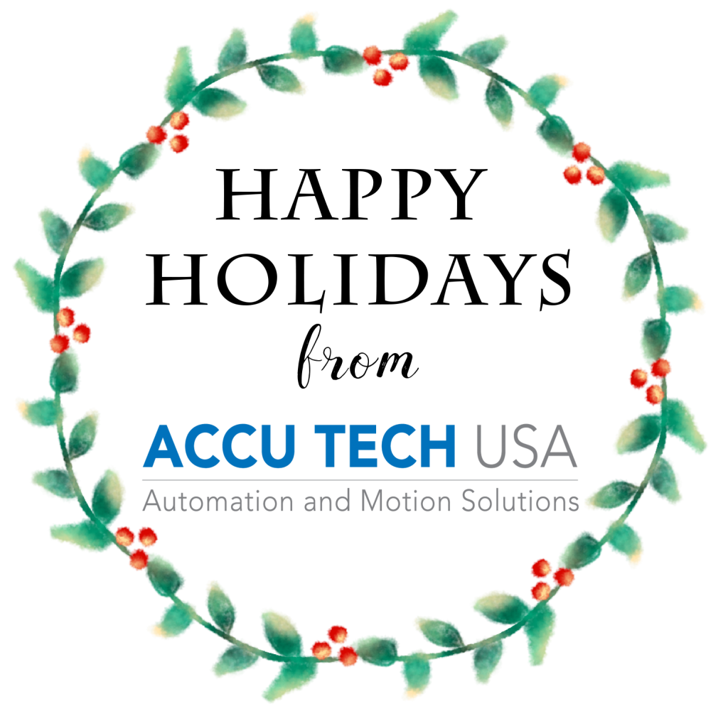 Happy Holidays from Accu Tech USA